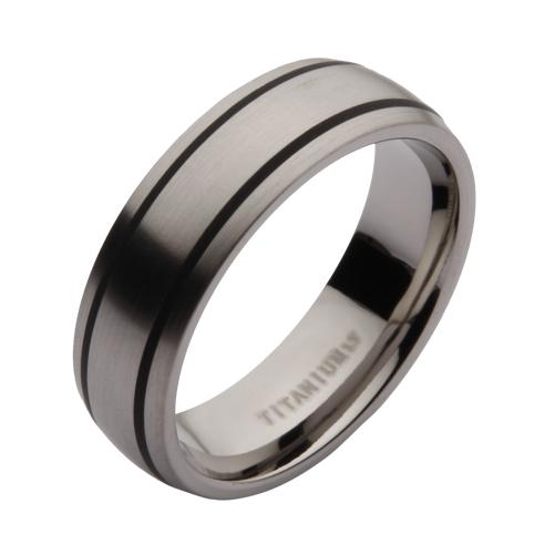 7mm titanium black enamelled wedding rings titanium sets at elma
