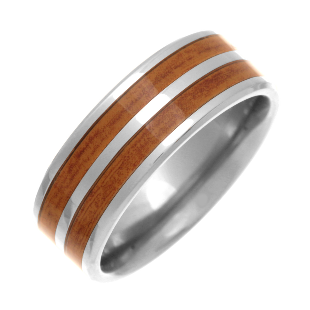 wood inlay wedding ring modest navokalcom With wedding rings with wood inlay