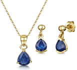 9ct Gold Earring & Pendant Sets