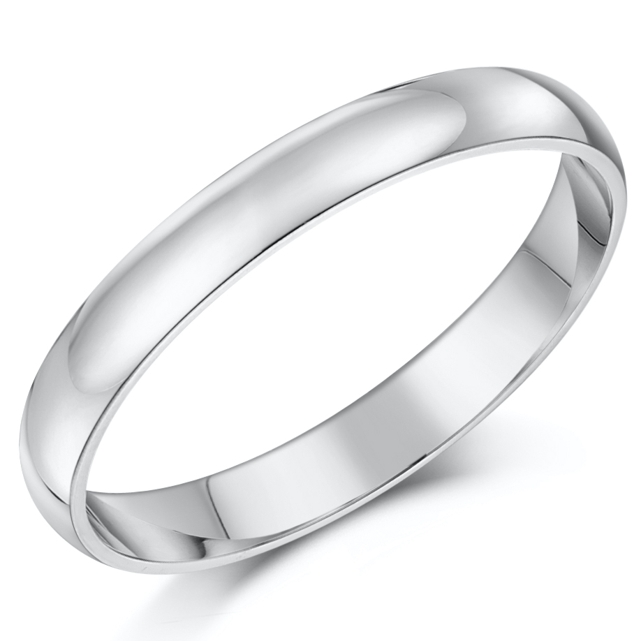 Cobalt 3mm Engagement Eternity & 3&5mm His Hers Wedding Rings ...