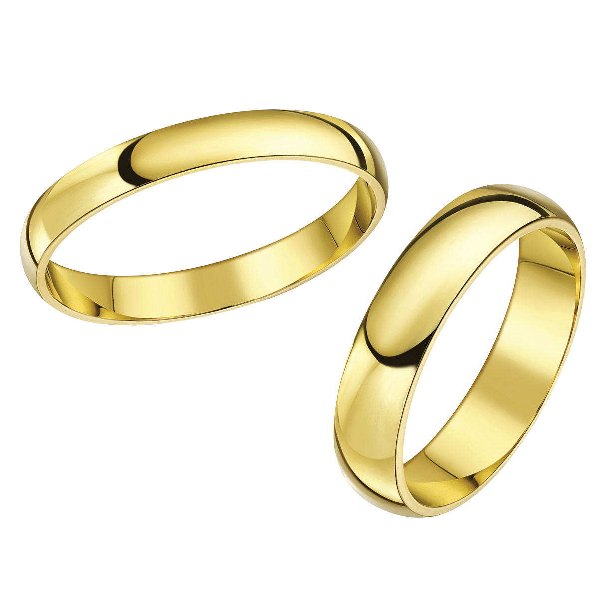 Matching yellow gold wedding ring sets his hers sets for 9ct gold wedding ring sets