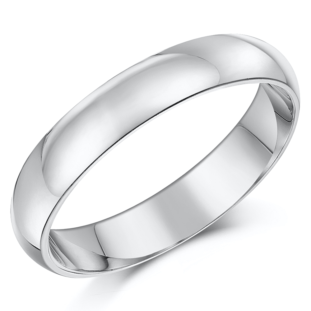 4mm Cobalt Engagement & 3&5mm His Hers Wedding Ring Bands