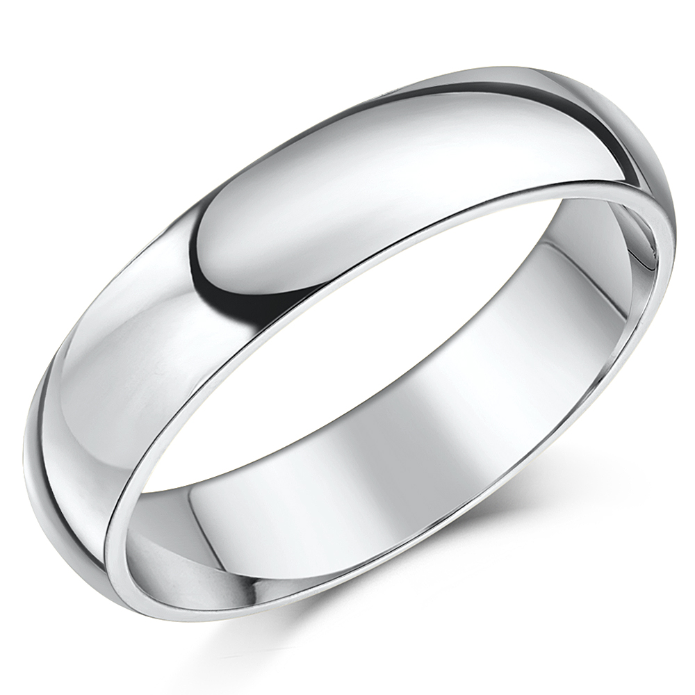 rings wedding bands band silver sterling classic