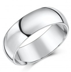 7mm Tungsten Wedding Ring Band