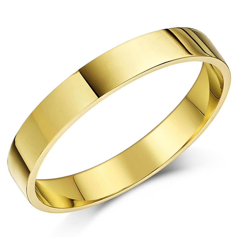 18ct gold wedding