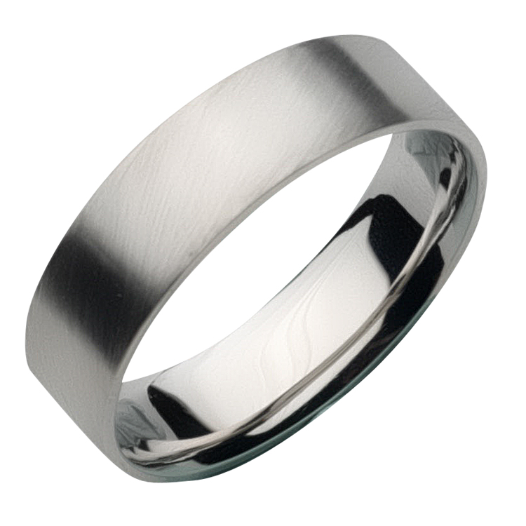 d l ring finish bands jewellers palladium style hinds by brushed f wedding rings shaped