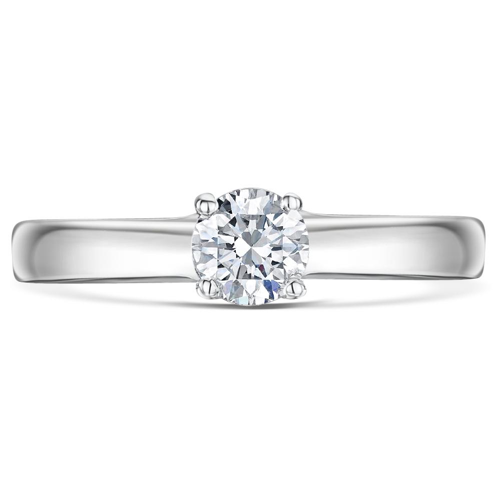 Engagement Rings Jewellery Quarter: 9ct White Gold Quarter Carat Diamond Solitaire Engagement