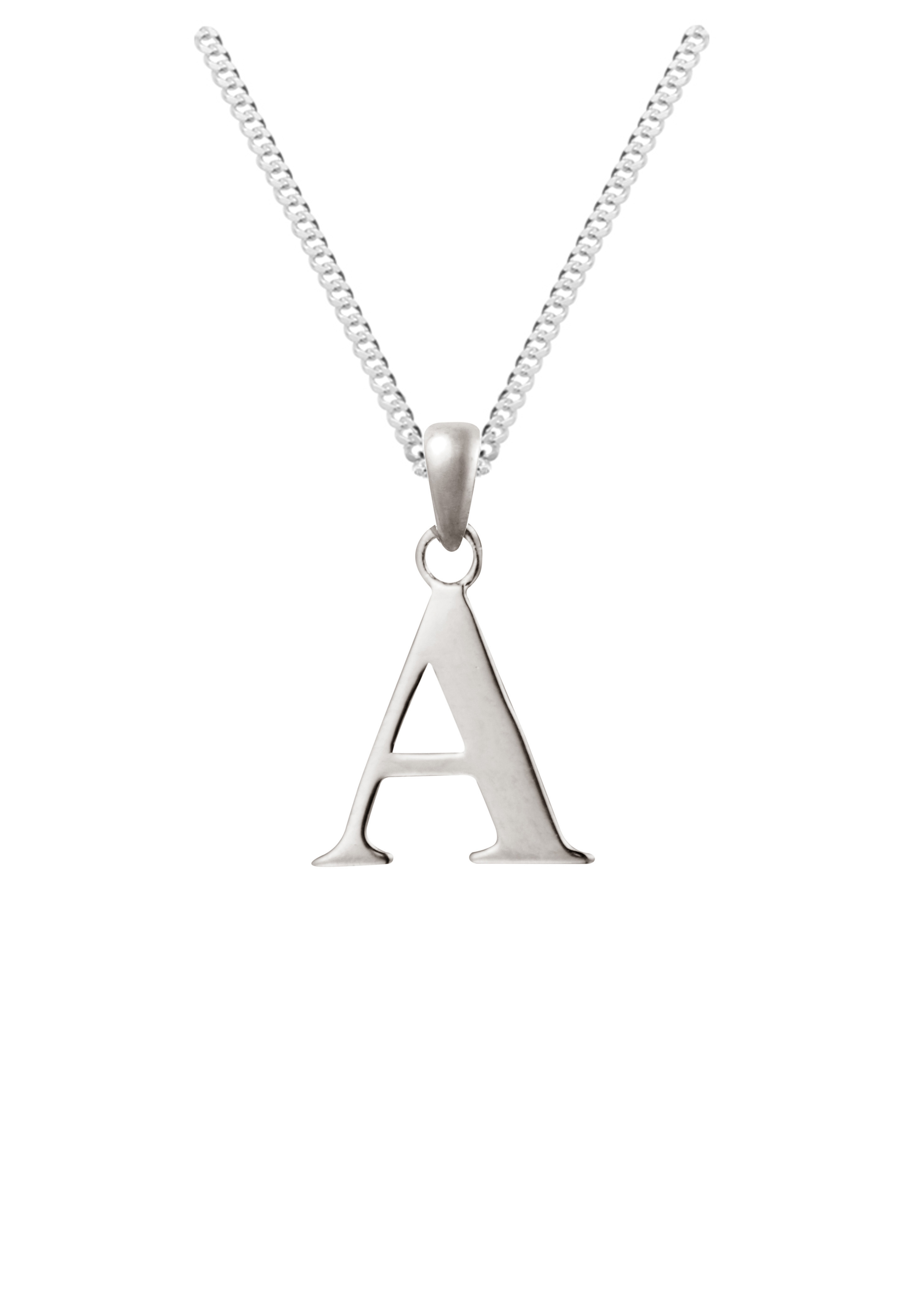 diamond affinity dancing sterling jewelry content com more qvc initial chains personalized necklace