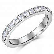 Titanium Eternity Ring 3mm Unisex Full Eternity Ring