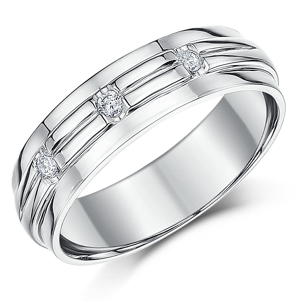 6mm palladium 950 wedding ring band palladium