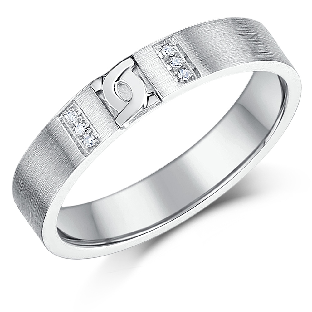 Silver Diamond Rings and Sterling Silver Wedding Bands Mens and