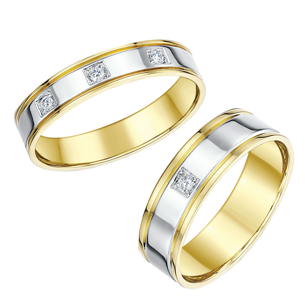 matching titanium wedding ring sets his and hers titanium