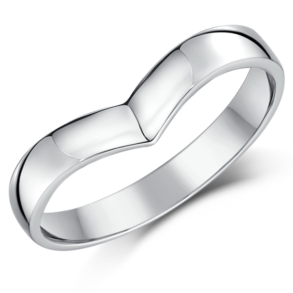Classic 18ct Or 9ct White Gold Wedding