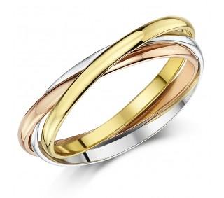 f5252f113b0b42 2mm 9ct Multi-Tone 3 Colour Gold Russian Wedding Ring - Russian ...