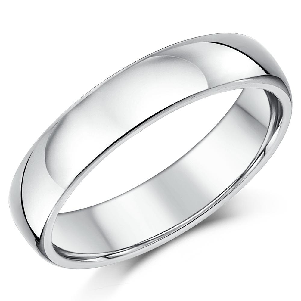 Plain Sterling Silver Wedding Bands
