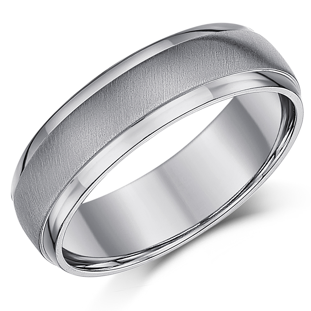 woodgrain product wedding thumbnail bois band faux rings silver ring wide titanium