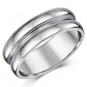 8mm Designed Nickelfree Tungsten Wedding Ring