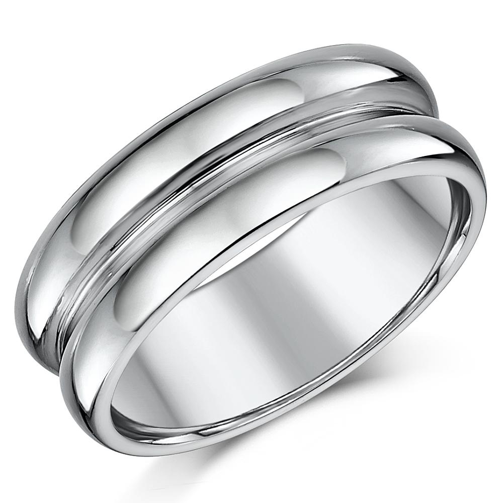 8mm Designed Nickelfree Tungsten Wedding Ring