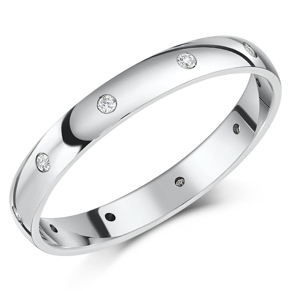 polished ti wedding matt p rings hers titanium his